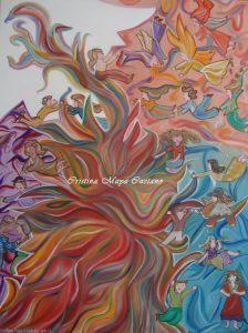 Criaturas Etéricas – 60x40cm.2014