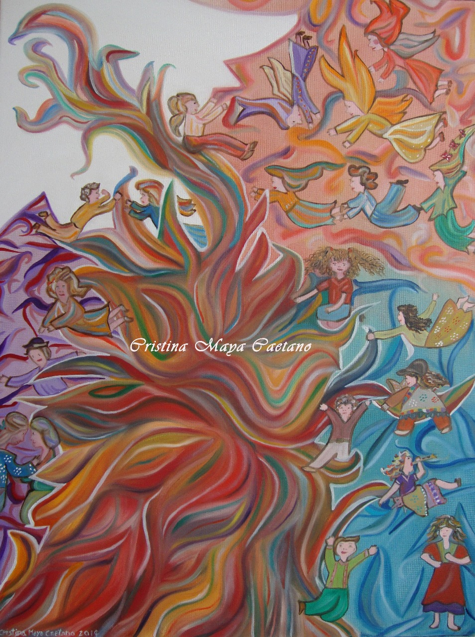 Criaturas Etéricas (Ethereal Creatures) - 60x40cm. 2014