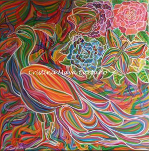 Embrace your inner beauty – 80X80cm.2016