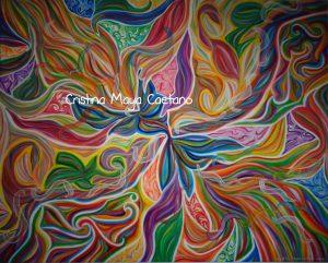 Rainbow of the soul – 80X100cm.2015